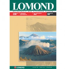 Фотобумага глянец Lomond Glossy Photo Paper, A-4, 230 г/м2, 50 листов (0102022)