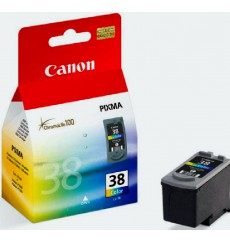 Картридж Canon CL-38 (2146B005) цветной, ОРИГИНАЛ, Pixma iP1800, iP1900, iP2500, iP2600, MP140, MP190, MP210, MP220, MP470, MX300, MX310. Ресурс до 205 стр. Япония