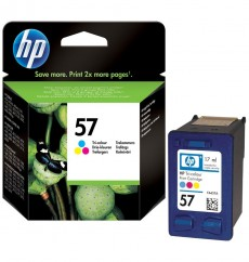 Картридж HP No.57 (C6657AE) color, ОРИГИНАЛ, pесурс до 500 стр. HP DeskJet-450, 5100ser, 5145, 5150, 5151, 5160, 5550, 5551, 5552, 5650, 5652, 5655, 5850, 9650, 9670, 9680, Digital Copier-410, OfficeJet-4105, 4110, 4212, 4215, 4219, 4252, 4255, 5505, 5510