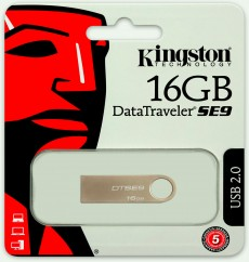 Kingston 16GB DataTraveler SE9 16GB (DTSE9H/16GB)