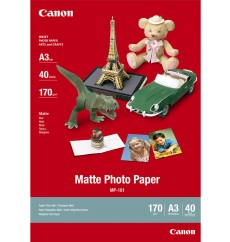 Фотобумага матовая Canon Photo Paper Matte MP-101, A4, 170 г/м2, 50 листов (7981A005) Япония