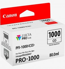 Чернильница Canon PFI-1000CO Chroma Optimizer LUCIA PRO (0556C001, 0556C002), ОРИГИНАЛ, imagePROGRAF PRO-1000. 80 мл. Япония